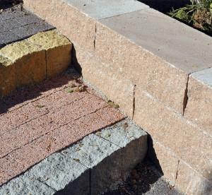 Grando piaskowy lamany Palisada Lamana paloma lamany Avanti grafitowy czerwony plukany