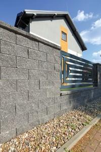 Ogrodzenie Antara II grafitowy lamany