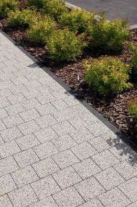 complex szary plukany obrzeze trawnikowe grafitowy gladki