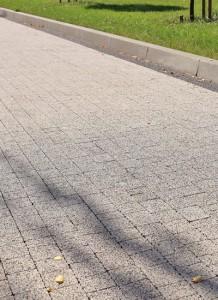 Kraweznik drogowy 15 szary gladki Beganit szary grafitowy plukany