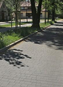 Kraweznik drogowy 15 szary gladki Trento grafitowy gladki 3