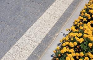 Kraweznik drogowy 15 szary gladki Trento szary grafitowy plukany