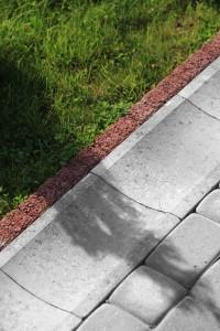 Plyta sciekowa korytkowa chodnikowa szary gladki Polbruk Nostalite szary gladki 2